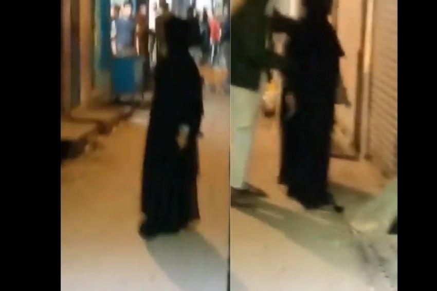 Watch: Burqa-Clad Woman Fires To Threaten Delhi Shop Owner; Held