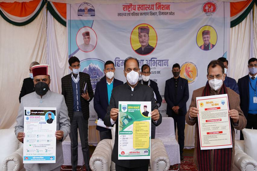 8,000 Health Teams Fan Out In Himachal To Collect Real-Time Data