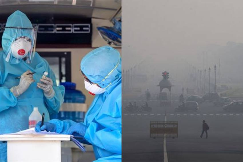Bad Air Causing High Covid Deaths Despite Low Positivity Rate In Delhi