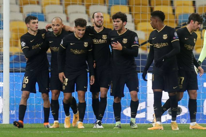 Champions League: Martin Braithwaite Brace Helps Barcelona Win 4-0 Vs Dynamo Kiev