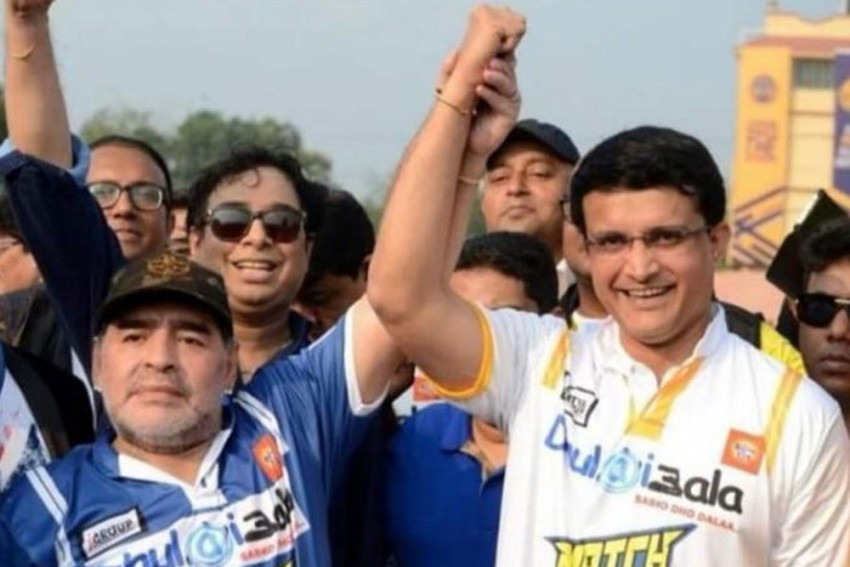 Diego Maradona Dies: Indian Sports Fraternity Led By Sourav Ganguly Pays Tribute To 'Mad Genius'