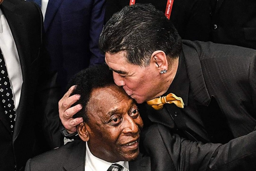 Pele Pays Tribute To Diego Maradona: One Day, We Will Play Ball Together In The Sky