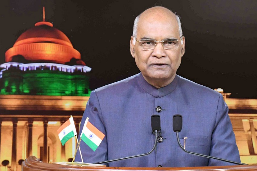Constitution Day: President Kovind Reads Preamble From Rashtrapati Bhavan