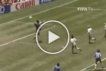 Remembering 'Hand Of God': Diego Maradona Ousts England At 1986 World Cup - VIDEOS
