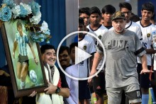 Maradona Dies: When Diego Magic Gripped Kolkata - VIDEO