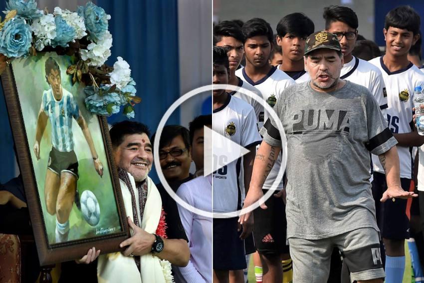 Maradona Dies: When Diego Magic Gripped Kolkata - VIDEO