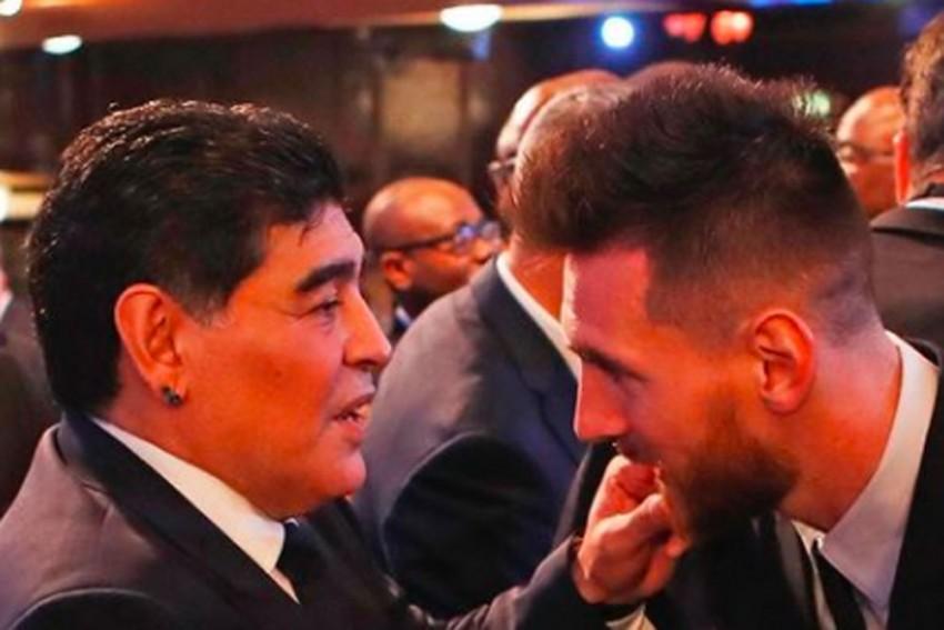 Diego Maradona Dies: Lionel Messi, Cristiano Ronaldo Hail 'Eternal' Genius Of Argentina Great