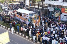 Tarun Gogoi Cremated With Full State Honours, Thousands Join Funeral Procession