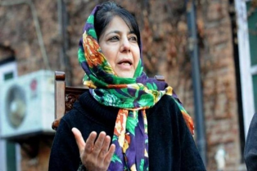 Amusing To See Govt Celebrate Constitution Day: Mehbooba Mufti