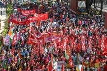 Trade Strike Shuts Down Some States, Partial In Others