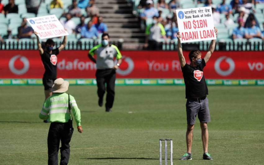 India Vs Australia: Two Protesters Enter Field Disrupt First ODI