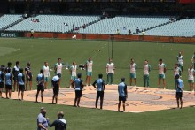 Tour Of Australia: Indian Cricketers Join Aussies In Anti-racism Gesture