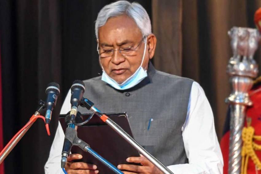 Bihar Chief Minister Nitish Kumar Lashes Out At Tejashwi Yadav