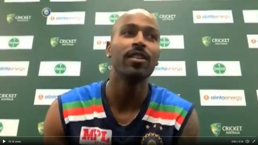 India Vs Australia: Hardik Pandya Says His New Born Son Has Changed Him - Watch