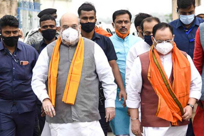 BJP's Big Ticket Blitz In GHMC Campaign Rattles KCR, Owaisi