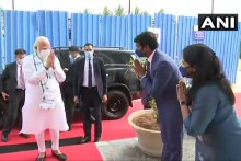 PM Modi Reaches Hyderabad To Review Bharat Biotech's Covaxin