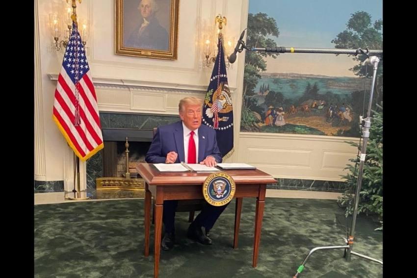 Donald Trump's Tiny Desk Sparks Meme Fest, #Diaperdon Trends On Twitter