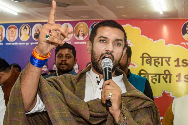 Chirag Downplays BJP Fielding Sushil Modi For Seat Won By Ram Vilas Paswan