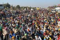 Farmer Protests: Students Join Farmers At Delhi-Haryana Border, Express Solidarity