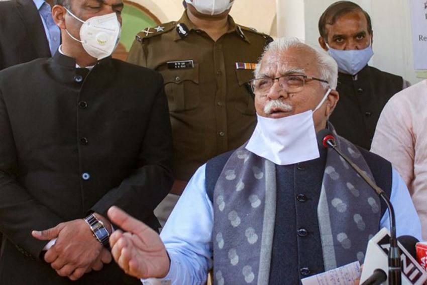Some Political Parties Are 'Sponsoring' Farmer Protests: Haryana CM Khattar