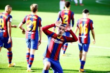 Barcelona 4-0 Osasuna: Antoine Griezmann Shines As Lionel Messi Pays Tribute To Maradona