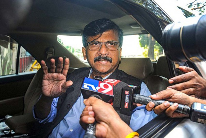 Protesting Farmers Being Treated Like Terrorists: Sena's Sanjay Raut Hits Out At BJP