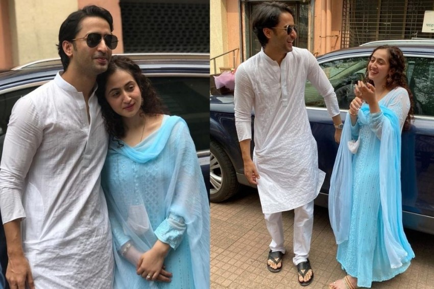 Actor Shaheer Sheikh, Ruchikaa Kapoor Get Married In Court