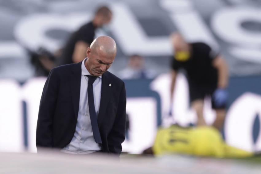 Real Madrid's Zinedine Zidane Alarmed By Lack Of Consistency After Shock La Liga Loss