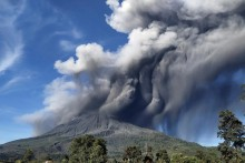 Volcano Erupts In Eastern Indonesia, Thousands Evacuated