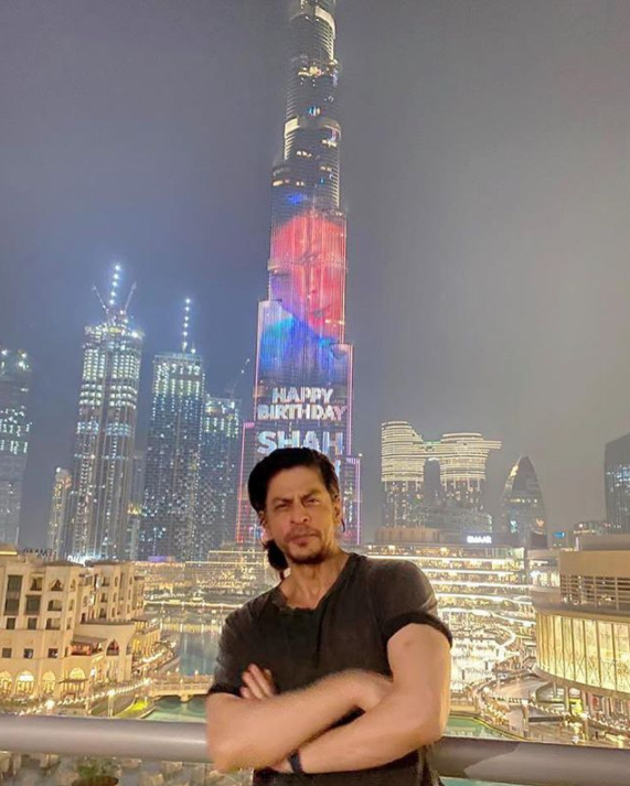 Watch: On Shah Rukh Khan's 55th Birthday, Burj Khalifa Adds Sparkle To His Celebration