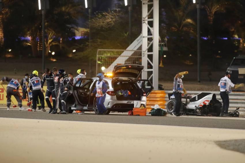F1: Ross Brawn Confirms 'Deep Investigation' will follow Romain Grosjean accident
