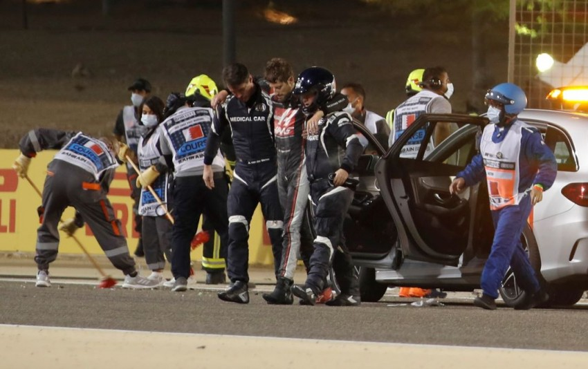 F1: Romain Grosjean To Miss Race After Crash, Replaced By Pietro Fittipaldi