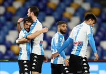 Diego Maradona Dies: Napoli Pull On Argentina-inspired Shirts, Fire Four Past Roma