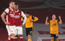 EPL: Wolves 2-1 Win Deepens Arsenal's Misery Amid Raul Jimenez Head Injury