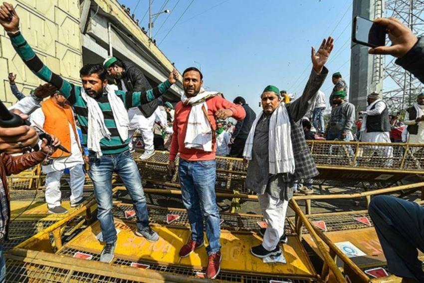 Farmers' Protest: Traffic Police Advises People To Take Alternate Routes To Enter, Exit Haryana