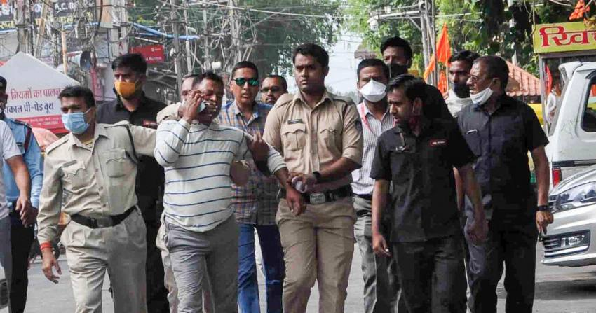 UP SIT Recommends Action Against Police Officials For Links With Slain Gangster Vikas Dubey