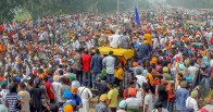 Farmers In Punjab, Haryana Block Roads As Part Of Nationwide Protest Against Farm Laws