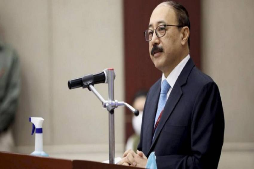 India Looking At Global Economic Fallout As Opportunity: Harsh Vardhan Shringla