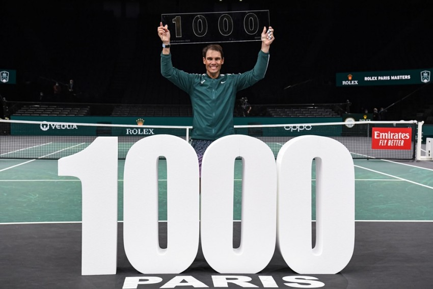 Rafael Nadal Earns His 1,000th Win In An Empty And Silent Stadium