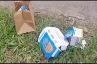 Tourists Who Dumped Pizza Boxes On Karnataka Road Made To Go Back 80Km To Pick Up Trash
