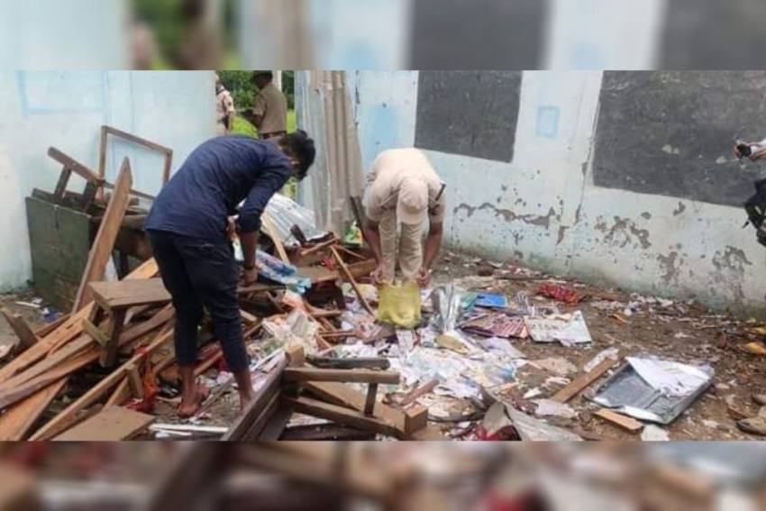 Blast In School Triggers Tension Again At Assam-Mizoram Border
