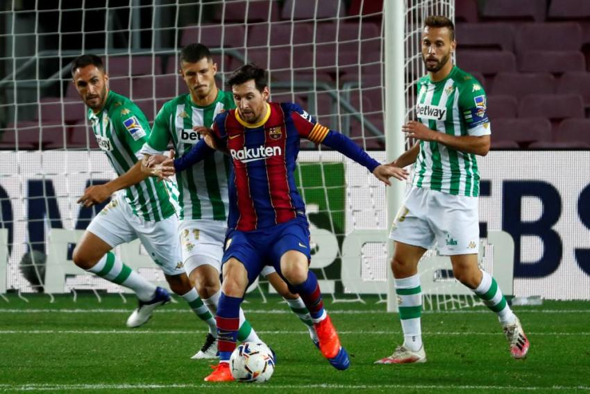 Barcelona 5-2 Real Betis: Lionel Messi Makes Big Impact From Bench With Double