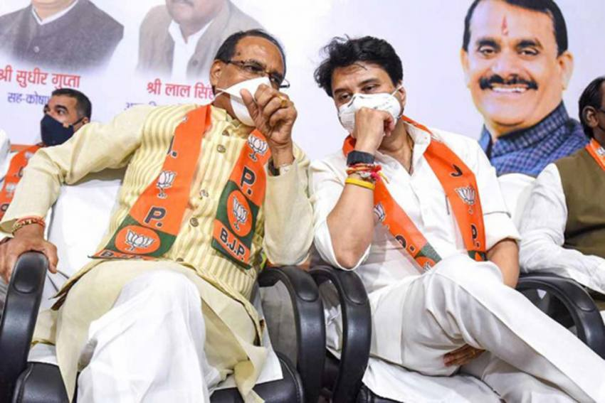 Exit Poll Predicts Clear Win For BJP In MP Bypolls
