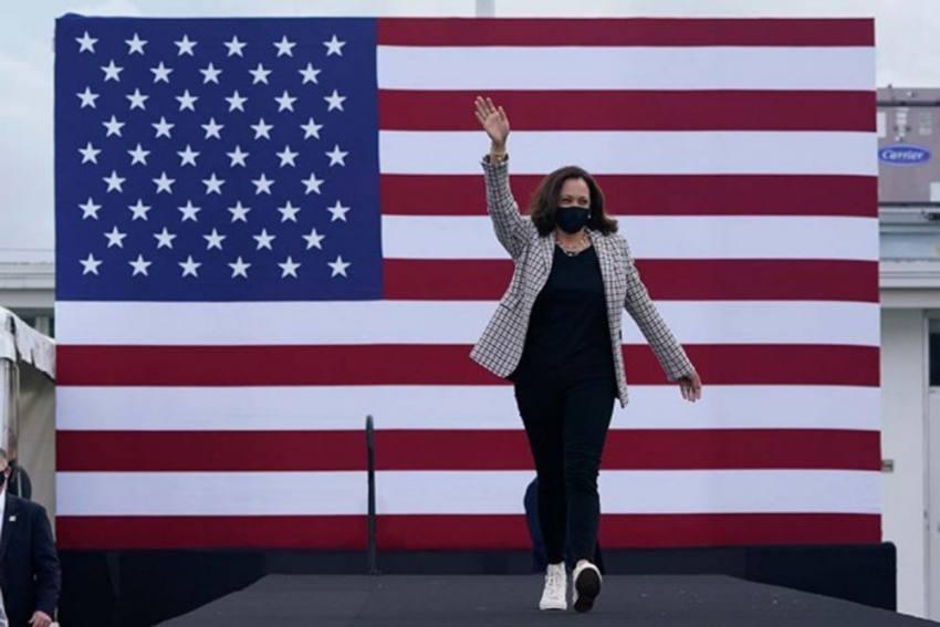 'We Did It Joe': Video Of Kamala Harris Calling Joe Biden After Pennsylvania Win Goes Viral