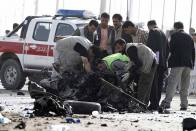 Suicide Car Bomber Kills 4, Injures 40 In Afghanistan: Officials