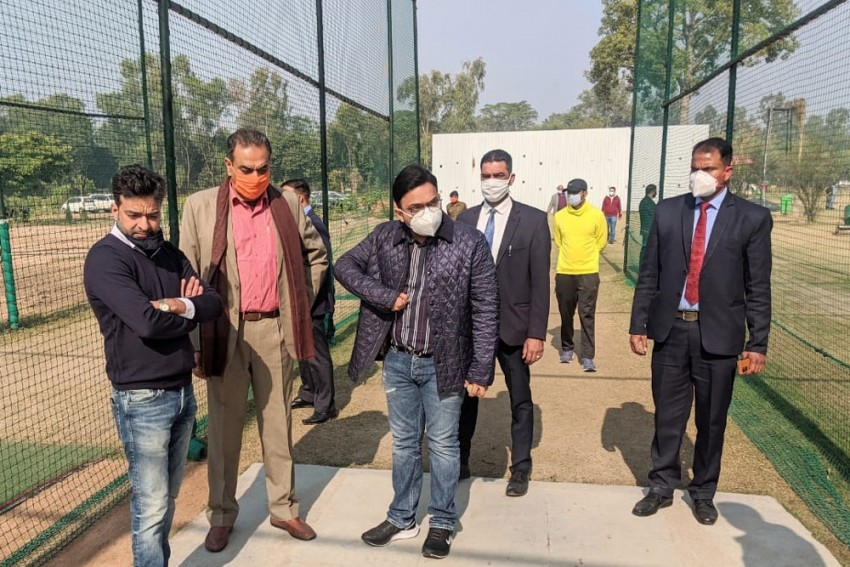 BCCI Secy Jay Shah Visits Chandigarh; Tricity Likely To Host Upcoming Domestic Season In Bio-bubble
