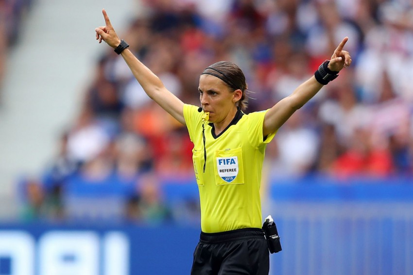 Stephanie Frappart To Become First Female Official To Referee Champions League Match