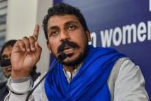 Bhim Army Chief Joins Protesting Farmers At Delhi-Ghazipur Border