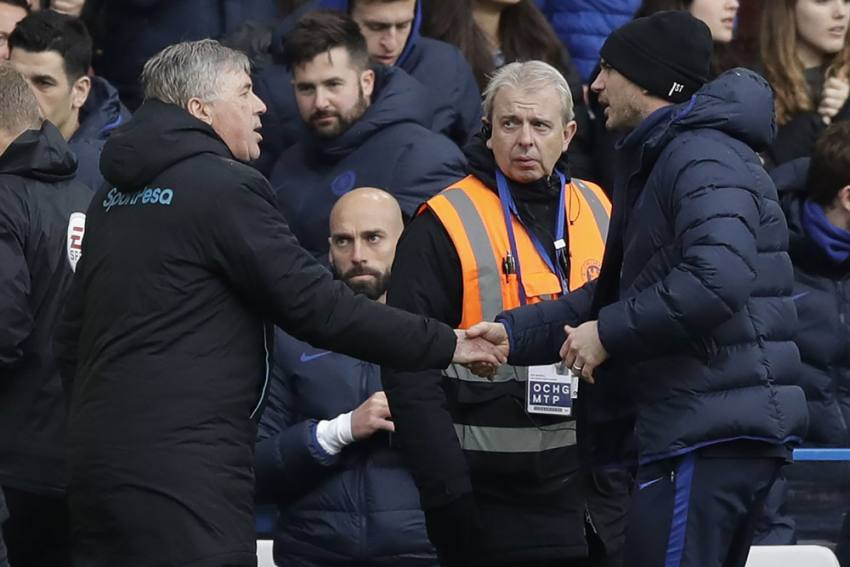 Premier League: Frank Lampard Relishing Carlo Ancelotti Reunion As Chelsea Head To Everton