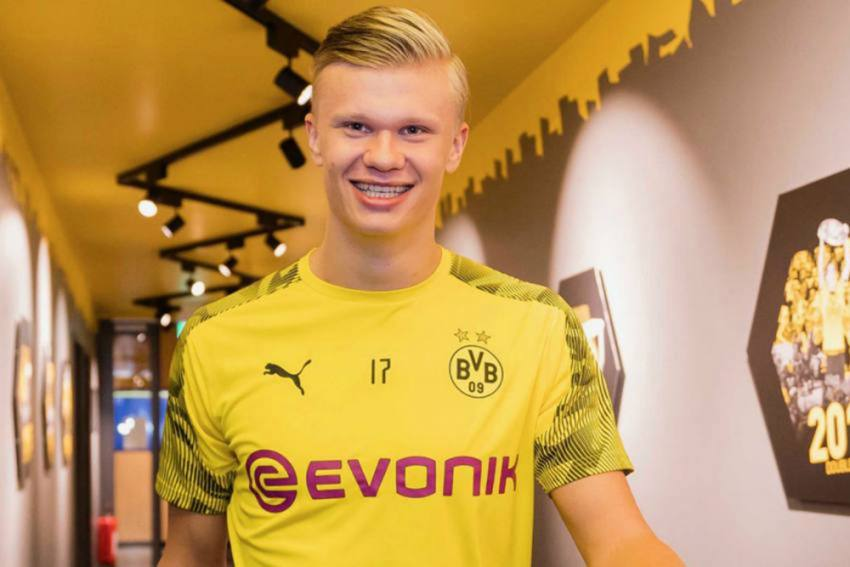Champions League: Focus on Borussia Dortmund Ace Erling Haaland and Lionel Messi